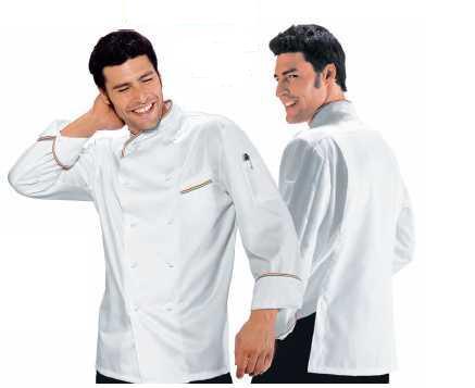 Dettaglio ligurperla abbigliamento professionale ristoranti